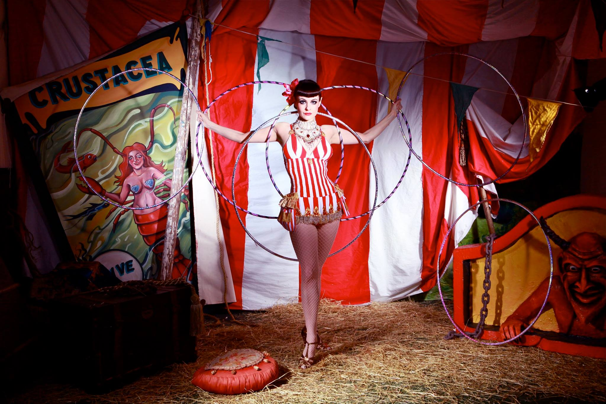 Book Or Hire Circus Lady Act