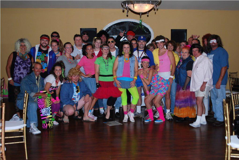 The 80 s themed adult birthday party ideas for 80 party decoration ideas