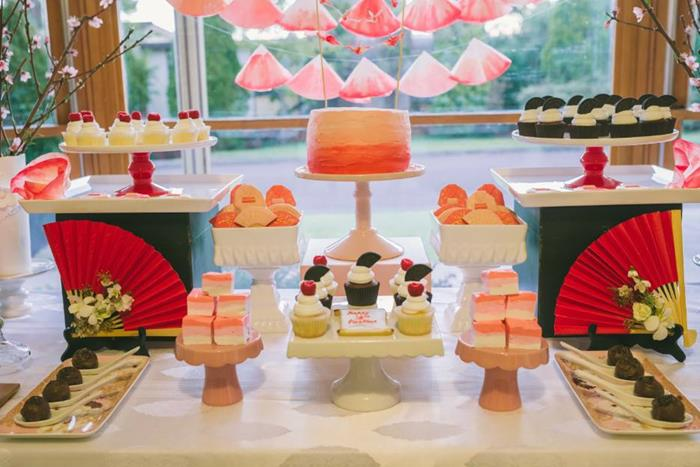 Japenese themed parties for teens