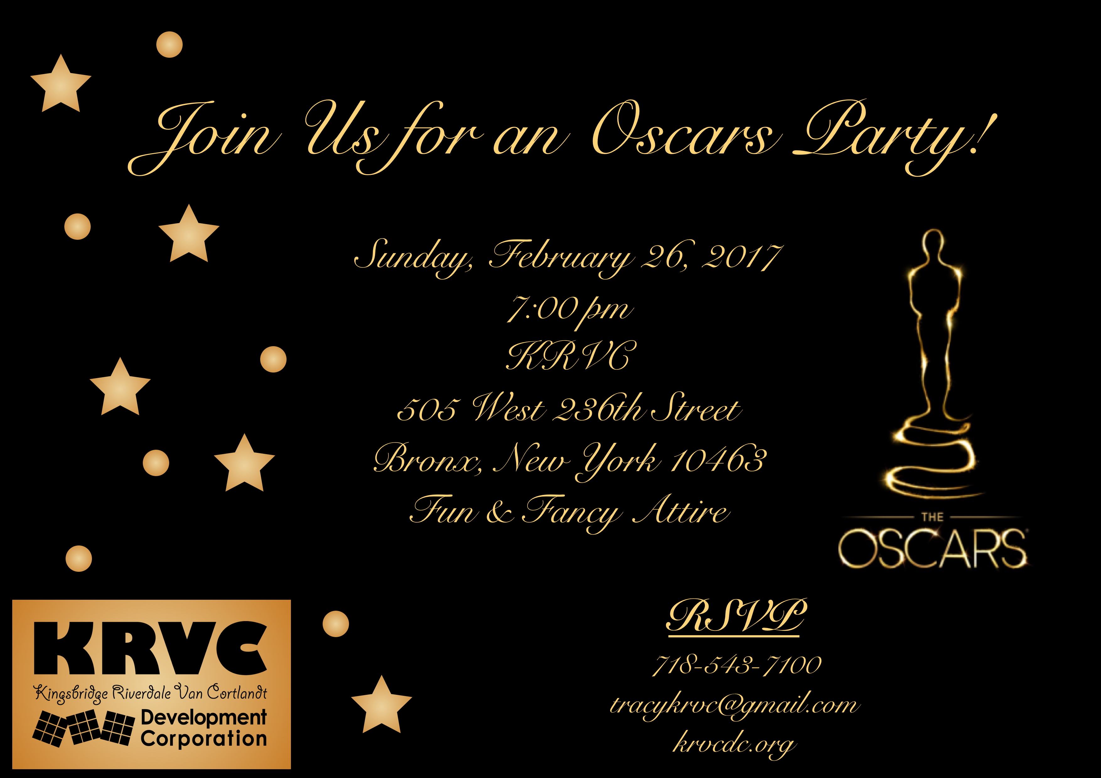 How To Throw A Special Oscar Night Party