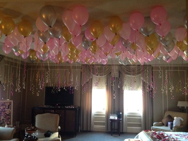 5 tips for an abroad birthday party planning for Hotel room decor for birthday
